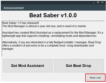 Song Loader Beat Saber